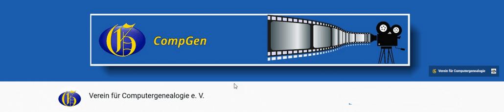 CompGen erweitert seine YouTube-Präsenz