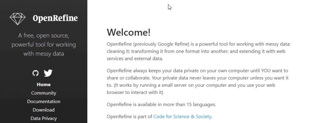 Datenaufbereitung mit OpenRefine auf Youtube