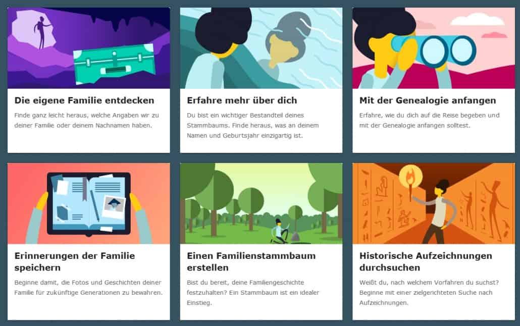 FamilySearch macht den Start zur Ahnenforschung noch leichter