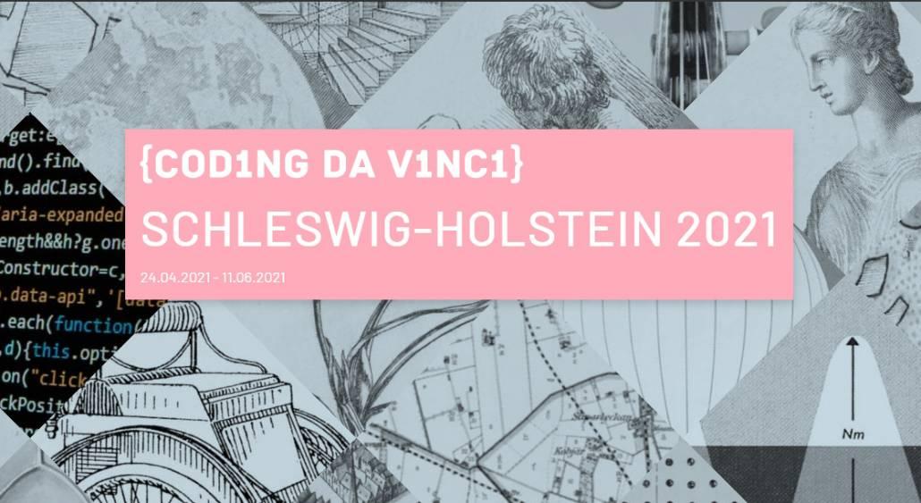 Coding Da Vinci-Kultur-Hackathon 2021 in Schleswig-Holstein mit CompGen-Angeboten