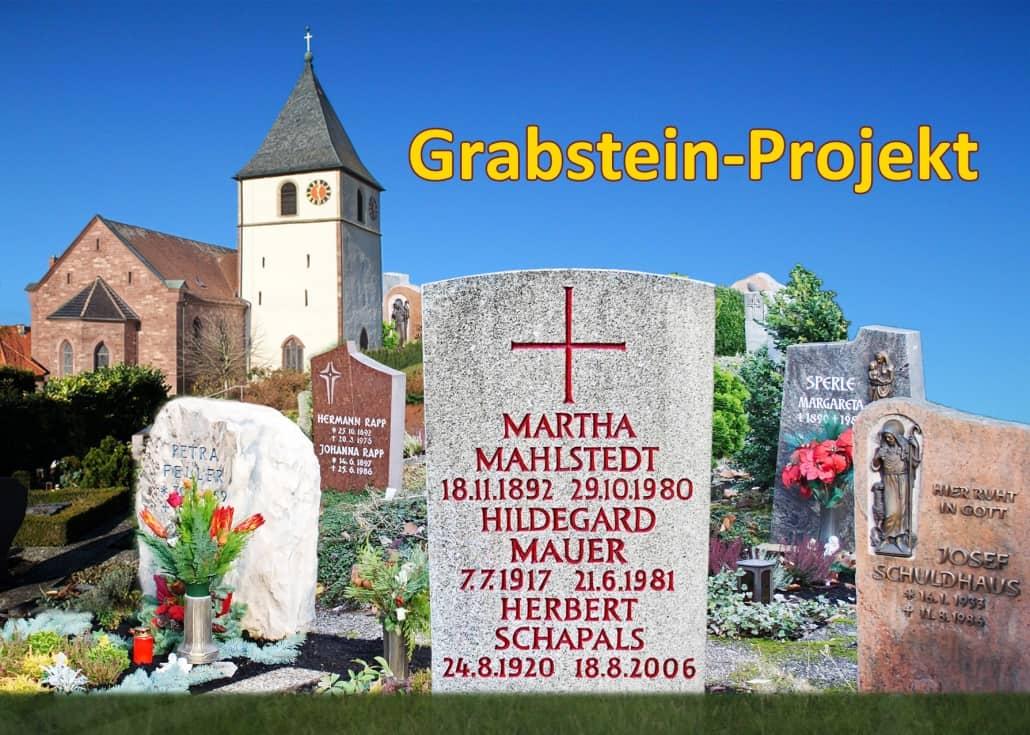 7.000 Friedhöfe im Grabstein-Projekt dokumentiert