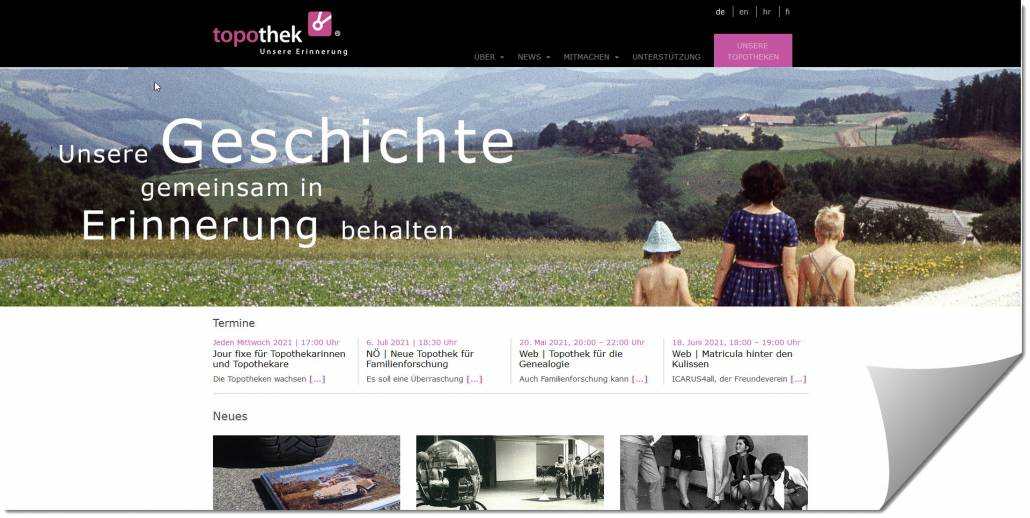 "CompGen-Online-Meeting ""Topothek"" am 20. Mai 2021"