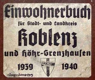 Adressbuch Koblenz