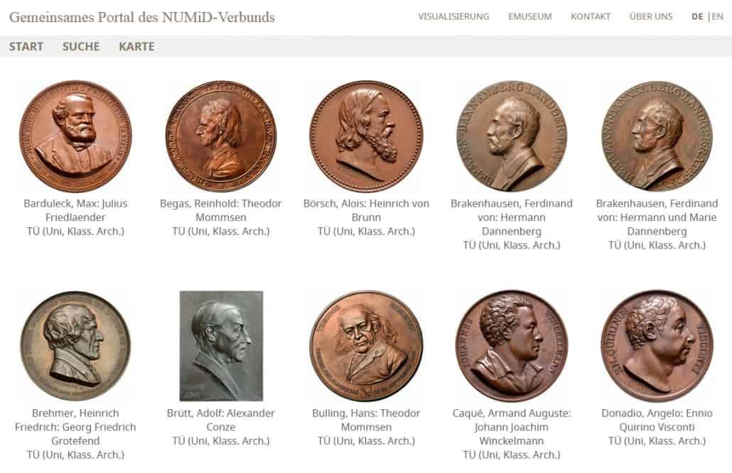 Münzen und Medaillen erzählen auch Personengeschichte