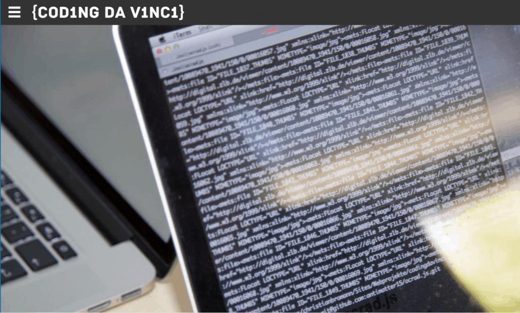Open Access und neue digitale Entwicklungen bei Coding da Vinci Schleswig-Holstein 2021
