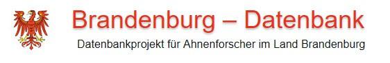 Neuigkeiten Mai 2021 in der Brandenburg Datenbank