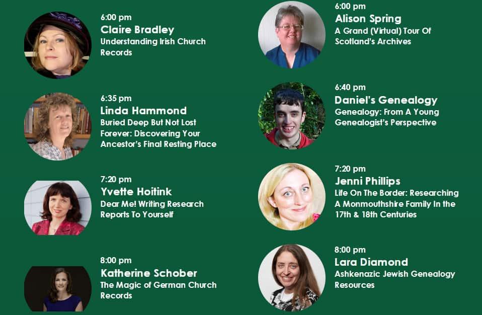 The GenealogyShow 2021 - meet the speaker