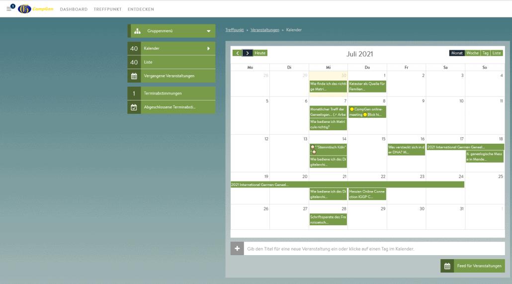 Wochenvorschau: Genealogische Online-Veranstaltungen – KW 27