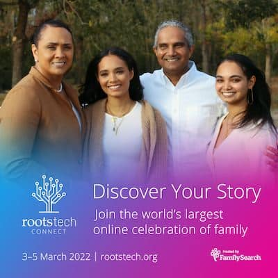 RootsTech Connect 2022 nur virtuell