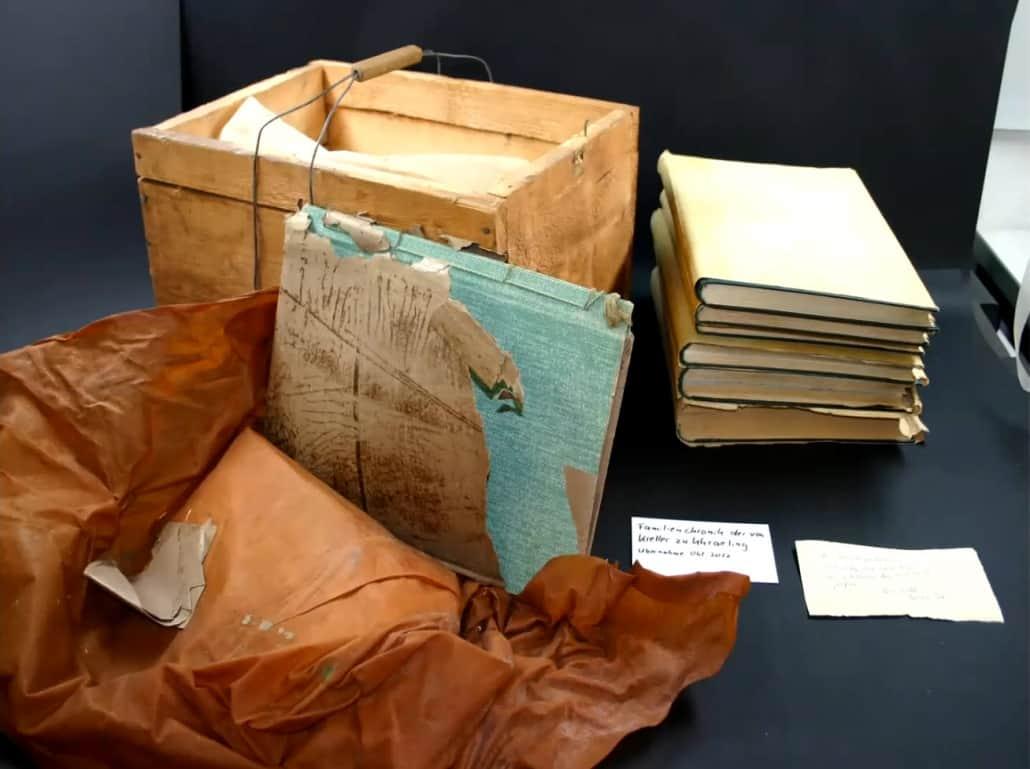 Genealogischer Nachlass im Staatsarchiv Leipzig vor der technischen Bearbeitung