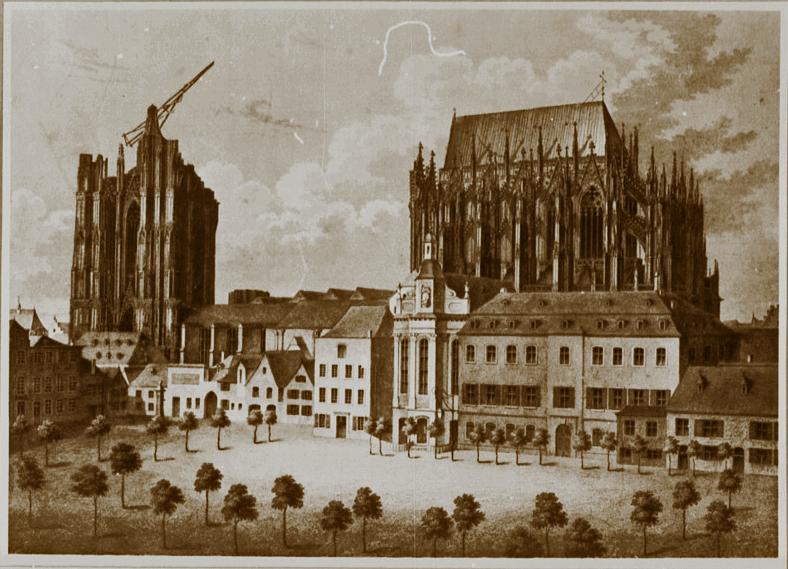 Kölner Dom 1842