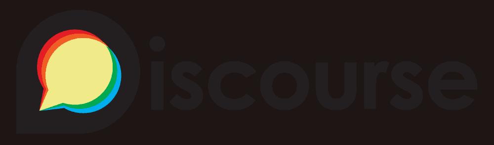 """Logo der Kommunikationsplattform """"Discourse"""""""