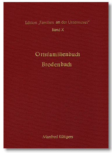 Ortsfamilienbuch Brodenbach 1676-1990